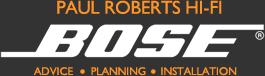 Paul Roberts Hi-fi - Advice - Planning - Installation